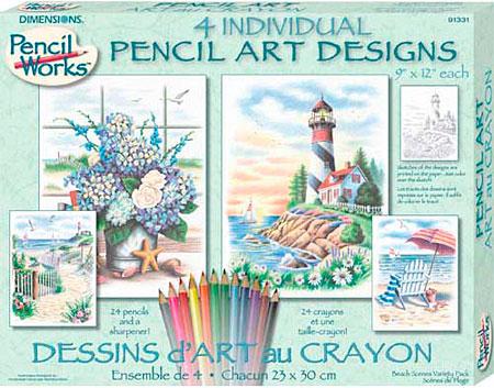 Pencil Art Set 1