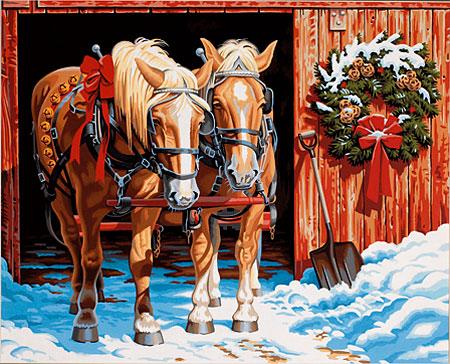 Malen nach Zahlen Bild Pferdestärke - 91423 von Sonstiger Hersteller