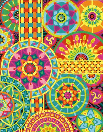 Malen nach Zahlen Bild Mandala - 91542 von Paintworks