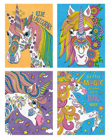 Malen nach Zahlen Bild Einhorn-Zauber - 91673 von Paintworks