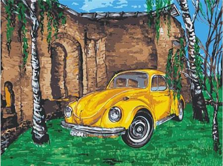Oldtimer unter den Birken