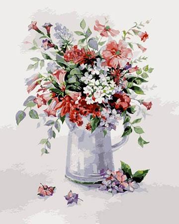 Malen nach Zahlen Bild Blumen-Rhapsodie - MG2057e von Protsvetnoy