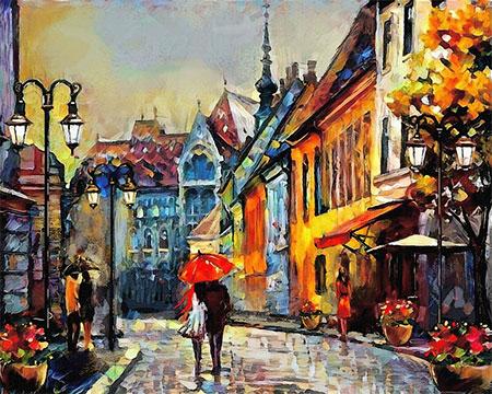 Europäische Stadt