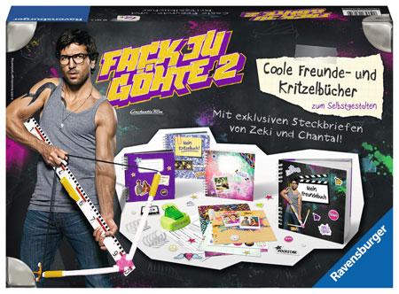 Fack Ju Göthe 2 - Coole Freunde - und Kritzelbücher