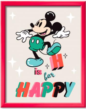 Malen nach Zahlen Bild Disney: H is for Happy - 20011 von Ravensburger