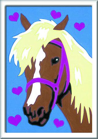 Malen nach Zahlen Bild Liebes Pferd - 27693 von Ravensburger