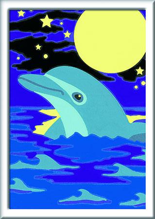 Malen nach Zahlen Bild Kleiner Delfin - 27694 von Ravensburger