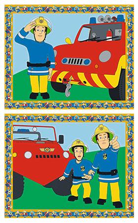 Malen nach Zahlen Bild Feuerwehrmann Sam - 27706 von Ravensburger