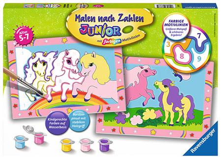 Malen nach Zahlen Bild Süße Ponys                 - 27773 von Ravensburger