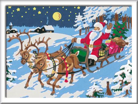 Malen nach Zahlen Bild Frohe Weihnachten - 27776 von Ravensburger