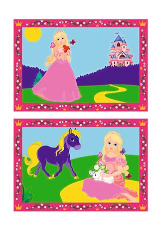 Malen nach Zahlen Bild Kleine Prinzessin - 27778 von Ravensburger
