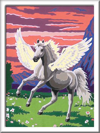 Malen nach Zahlen Bild Traumhafter Pegasus - 27791 von Ravensburger