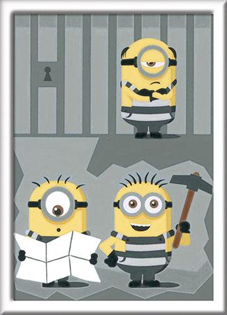 Malen nach Zahlen Bild Despicable Me 3 - Im Gefängnis          - 27829 von Ravensburger