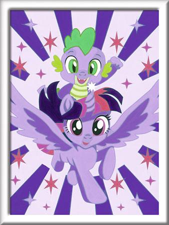 Malen nach Zahlen Bild My Little Pony - Hallo Abenteuer! - 27833 von Ravensburger