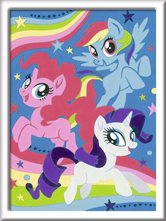 Malen nach Zahlen Bild My Little Pony - Magie der Freundschaft - 27834 von Ravensburger
