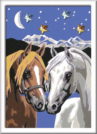 Malen nach Zahlen Bild Pferdeliebe - 28024 von Ravensburger