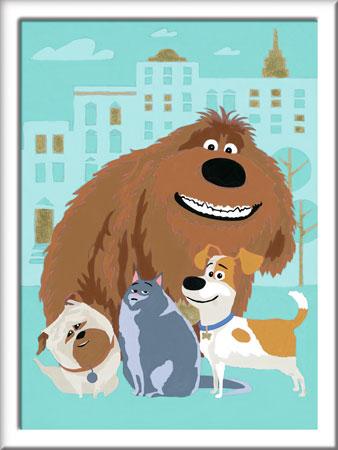 Malen nach Zahlen Bild Pets - Charaktere - 28322 von Ravensburger