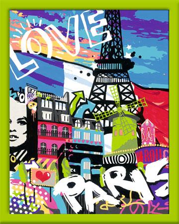 Malen nach Zahlen Bild Cooles Paris - 28428 von Ravensburger