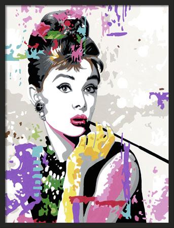 Malen nach Zahlen Bild Audrey Hepburn - 28438 von Ravensburger