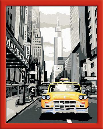 Malen nach Zahlen Bild New York City - 28443 von Ravensburger