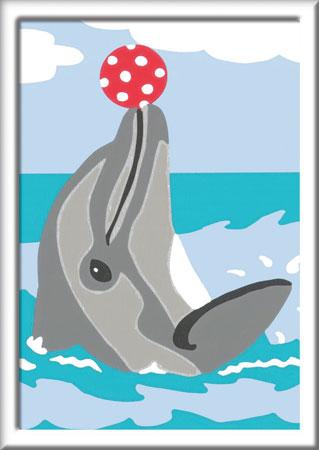 Malen nach Zahlen Bild Delfin - 28465  von Ravensburger