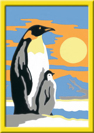 Süße Pinguine