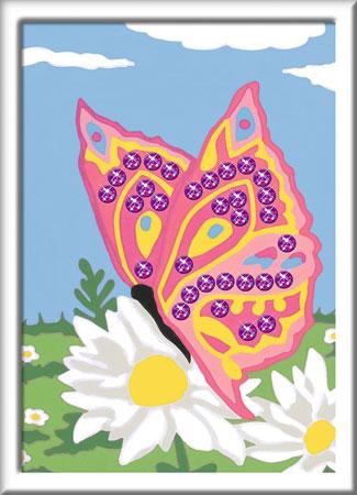 Malen nach Zahlen Bild Schmetterling - 28474  von Ravensburger