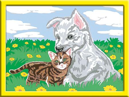 Malen nach Zahlen Bild Süße Tierkinder - 28487 von Ravensburger