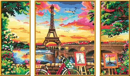 Malen nach Zahlen Bild Im Herzen von Paris - 28495 von Ravensburger