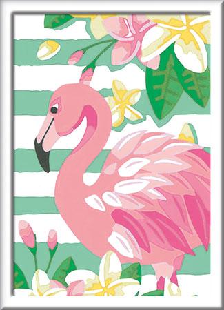 Malen nach Zahlen Bild Think Pink - 28512 von Ravensburger
