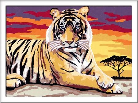 Malen nach Zahlen Bild Majestätischer Tiger - 28553 von Ravensburger