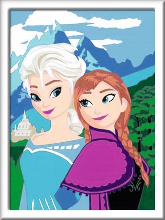 Die Eiskönigin - Elsa und Anna