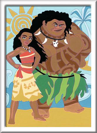 Vaiana und Maui