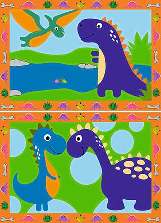Malen nach Zahlen Bild Land der Dinosaurier - 28694 von Ravensburger