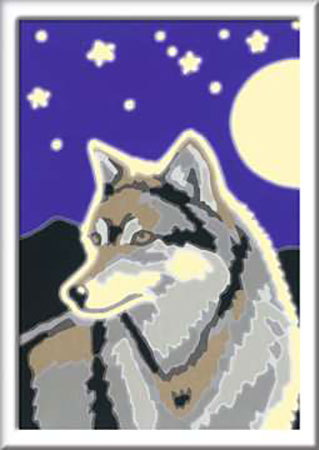Malen nach Zahlen Bild Wolfsportrait - 28773 von Ravensburger