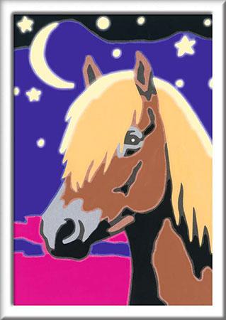 Malen nach Zahlen Bild Treues Pferd - 28774 von Ravensburger