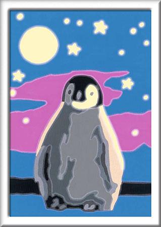 Malen nach Zahlen Bild Kleiner Pinguin - 28775 von Ravensburger