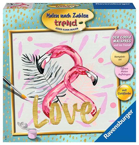 Malen nach Zahlen Bild Flamingo Love - 28797 von Ravensburger