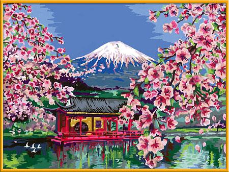 Malen nach Zahlen Bild Japanische Kirschblüte - 28841 von Ravensburger