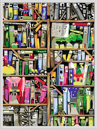 Malen nach Zahlen Bild Magisches Bücherregal - 28895 von Ravensburger