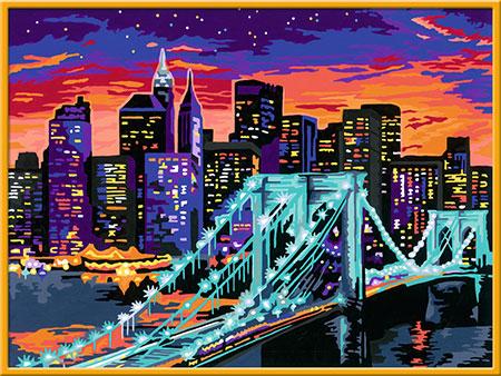 Malen nach Zahlen Bild Brooklyn Bridge - 28897 von Ravensburger