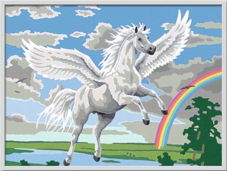 Malen nach Zahlen Bild Im Reich des Pegasus                                                          - 28900  von Ravensburger