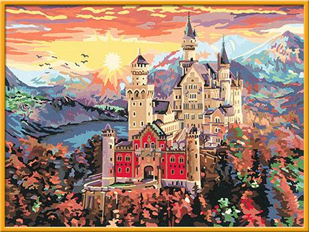 Malen nach Zahlen Bild Schloss Neuschwanstein - 28902 von Ravensburger