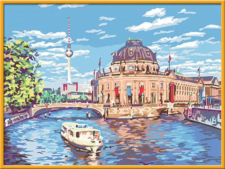 Malen nach Zahlen Bild Berliner Museumsinsel - 28903 von Ravensburger