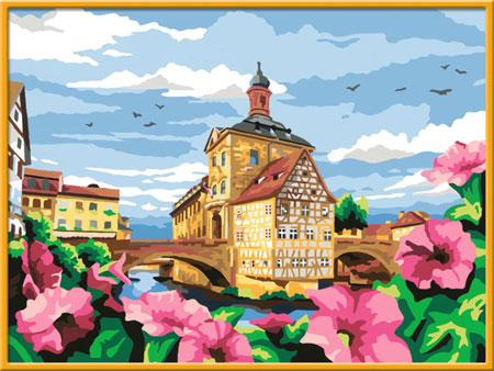 Malen nach Zahlen Bild Historisches Bamberg - 28913  von Ravensburger