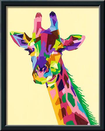 Malen nach Zahlen Bild Bunte Giraffe - 28926 von Ravensburger