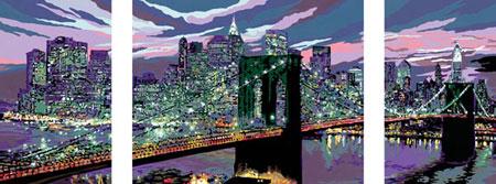 Malen nach Zahlen Bild Skyline von New York - 28951 von Ravensburger