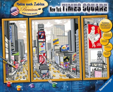 Malen nach Zahlen Bild New York Times Square - 28966 von Ravensburger