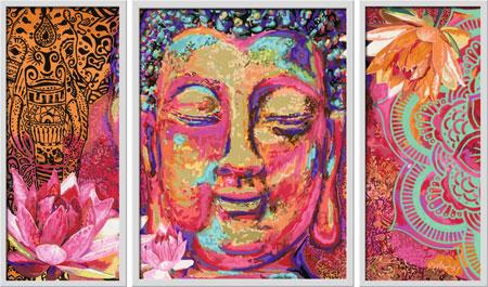 Malen nach Zahlen Bild Goldener Buddha - 28976 von Ravensburger