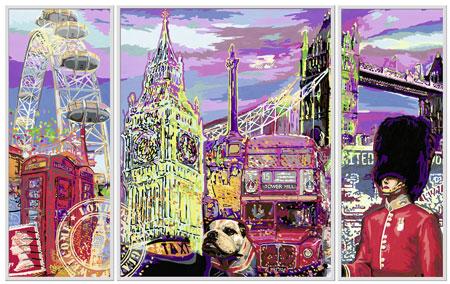 Malen nach Zahlen Bild London City - 28979 von Ravensburger